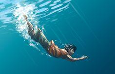 Percy Jackson : Dive by ~Jo-yumegari on deviantART