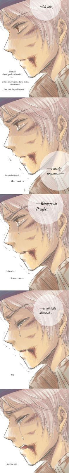 Prussia, Hetalia Fan Art - February, 25,1947 The kingdom of Prussia was officially dissolved.