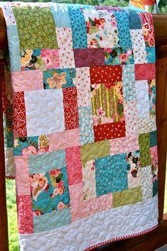 I love this pattern; looks great with the Sophie fabric by Moda which I have in my stash
