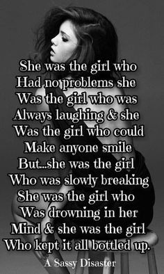 I am that girl. Dark Quotes, Sad Love Quotes, Cute Quotes, Favorite Quotes, Best Quotes, Depression Quotes, Get To Know Me, Poetry Quotes, Deep Thoughts