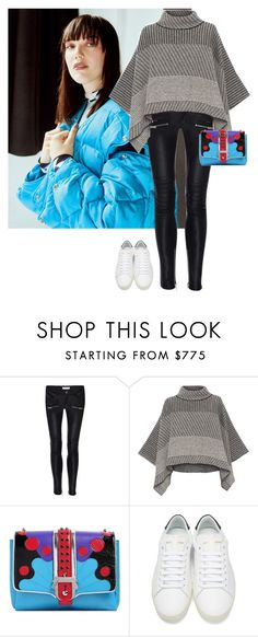 """""""Untitled #1157"""" by randeee ❤ liked on Polyvore featuring Anine Bing, Piazza Sempione, Paula Cademartori and Yves Saint Laurent"""