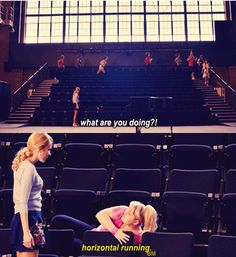 Pitch Perfect-wonder what track coaches would think of this