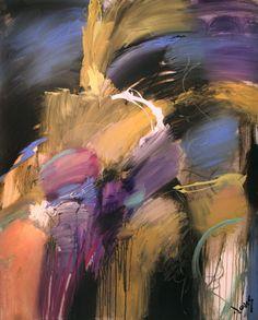 Jonas Gerard , expressionista de representação abstrata