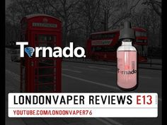 Vape Dinner Lady Tornado - Twister E-Liquid Review - YouTube