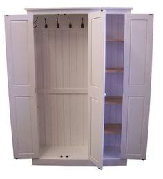 3 Door Hall / Utility Room / Cloak Room Coat & Shoe Storage Cupboard