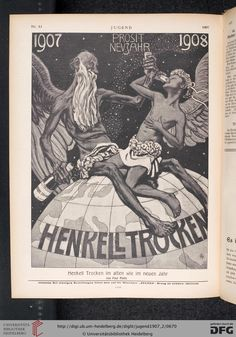 Jugend, German illustrated weekly magazine for art and life, Volume 12.2, 1907.