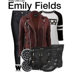 Inspired by Shay Mitchell as Emily Fields on Pretty Little Liars.