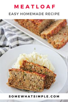 Homemade meatloaf is one of my family's favorite dinners. This recipe is super easy and only takes minutes to prepare. The best part, is that you only need 4 ingredients to make this delicious recipe. If you follow our easy tips, the loaf will come out moist and flavorful every time!
