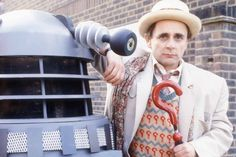 Nixxie's Place: Doctor Who - The Classic years - Promo shots of. Bbc Tv Series, Sci Fi Series, Sylvester Mccoy, Doctor Who Merchandise, William Hartnell, Dr Who, Tardis, 50th Anniversary, Nerd Stuff
