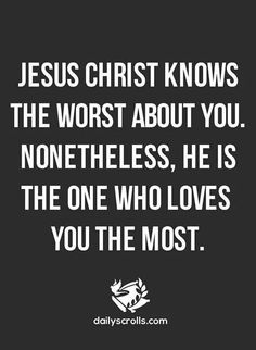 He sure does. That's why His bloods was shed because of this; He loves us all despite our flaws, defects of character. He certainly has a way to sanctify tho!