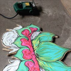 LeLOTUS-an 🌼🌿  .  .  .  #wip #woods #artwork #illustration #psychedelicart #merkabah #sanggargarasi