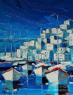 Mona Edulesco - GREEK HARBOR