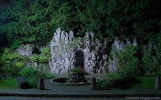 Darmowe zdjęcia na tapety, e-kartki, życzenia... Free Photos : Strzekęcino pałacowy ogród nocą - Wallpaper 4K 384...