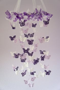 Pluie de papillons