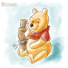 Ior, Winnie The Pooh, Disney Characters, Fictional Characters, Sketch, Bullet Journal, Stickers, Friends, Instagram
