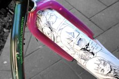 Bike by Petra Dijks, via Behance
