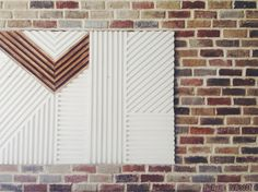 Is it just me or would this make an awesome headboard?! Vintage revivals dowel art diy