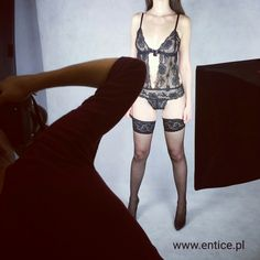 Photoshoot backstage 😉 visit us on www.entice.pl 👈