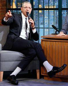 Jeff Goldblum Sings Jurassic Park Theme on Late Night With Seth Meyers - Us Weekly