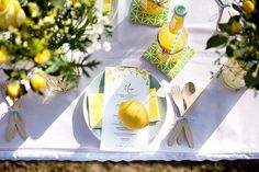 Gelbe Gartenparty mit kostengünstigen Ideen | Hochzeitsblog - The Little Wedding Corner