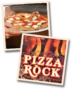 Pizza Rock Las Vegas restaurant pairs delicious gourmet pizzas with specialty cocktails from our full-service bar, and an extensive beer & wine menu to create the ultimate destination pizzeria and nightclub. Las Vegas Eats, Las Vegas Restaurants, Pizza Cups, Pizza Maker, Pizza Style, Burrata Cheese, San Marzano Tomatoes, Balsamic Reduction, Restaurant Concept