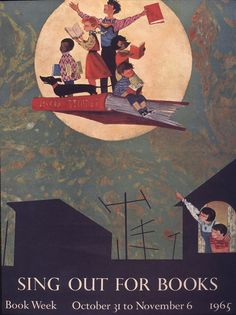 Official Children's Book Week poster, 1965, Ezra Jack Keats, (1916-1983)