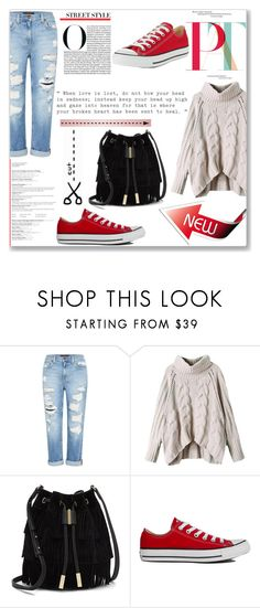 """Cut out"" by jan31 ❤ liked on Polyvore featuring Genetic Denim, Vince Camuto, Converse and Love Quotes Scarves"