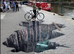 Streetart- trompe l'oeil