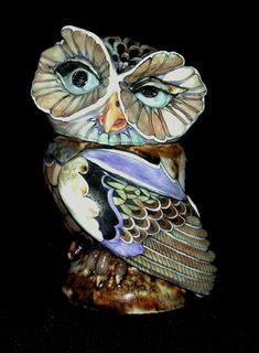 Little Owl - David Burnham Smith - Master Ceramic Artist