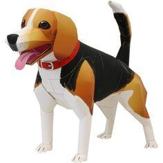 Beagle,Animals,Paper Craft,United Kingdom [England],Mammals ,Animals,dog,Paper Craft,dog