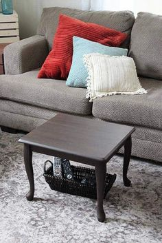 End Table Upcycled As A Small E Coffee