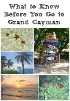 There's nothing better than a few days away in the Caribbean. Before you hop on a plane, here's what you need to know to make the most of Grand Cayman.