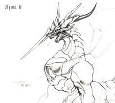 Ultima_Weapon_FFVII_Art.jpg (1052×940)
