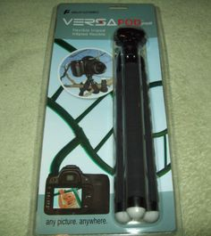 Versa Pod Pro Flexible Tripod for DSLR Cameras UNOPENED NEW IN BOX FREE SHIPPING