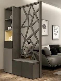 Living Room Partition Design, Living Room Divider, Room Partition Designs, Living Room Tv Unit Designs, Living Room Decor, Kitchen Room Design, Home Room Design, Home Interior Design, Home Decor Furniture