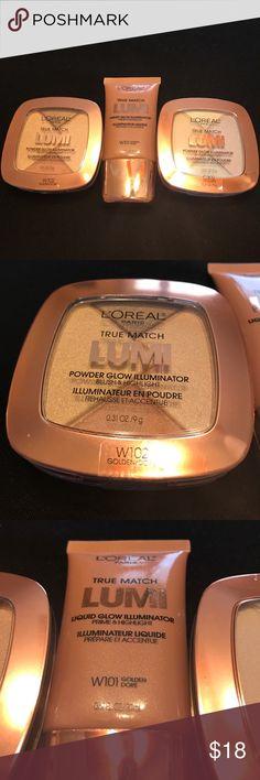 L'Oréal Cream & Powder Highlighters. New L'Oréal Cream & Powder Highlighters. New   These are fabulous. L'Oreal Makeup Luminizer