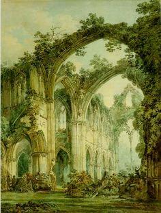 Regency art by Turner, a perfect place for a romantic regency stroll!