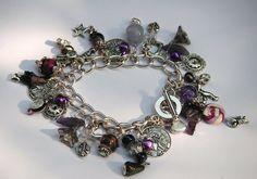 SP 'The Colour Purple' Charm Bracelet