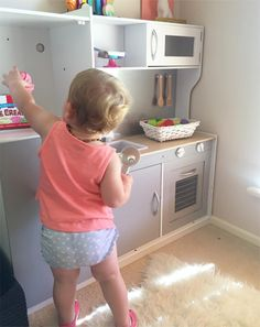 Cool grey - the best hacks of the Kmart kids kitchen.