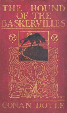 The Hound of the Baskervilles by Arthur Conan Doyle. Cover art by Alfred Garth Jones-AWESOME story! Sherlock Holmes is a hard-core mofo! Victorian Books, Antique Books, Vintage Book Covers, Vintage Books, Detective Sherlock Holmes, Elementary My Dear Watson, Arthur Conan Doyle, Sir Arthur, Crime Fiction