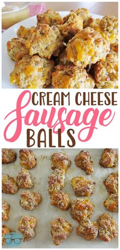 cheese sausage balls This Tasty Cream Cheese Sausage Balls is the perfect and easy appetizer for any gathering! This Tasty Cream Cheese Sausage Balls is the perfect and easy appetizer for any gathering! Sausage Appetizers, Finger Food Appetizers, Appetizers For Party, Finger Foods, Breakfast Appetizers, Appetizer Dessert, Easy Party Finger Food, Recipes For Appetizers, Easy Holiday Appetizers