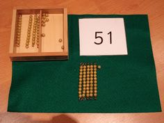 Recently a child had been working with Seguin Board B and the tens beads. I didn't feel that the child had fully understood the concepts be...