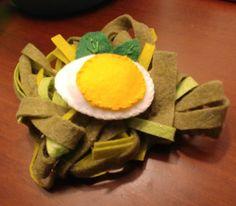 Eggs, Felt, Breakfast, Handmade, Morning Coffee, Felting, Hand Made, Egg, Feltro