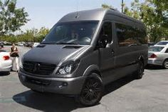 ... movies in Justin's customized Mercedes-Benz Sprinter van this weekend