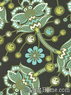 The Birds & the Bees PWTP026-Forest Fabric by Tula Pink