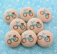 Bicycle buttons