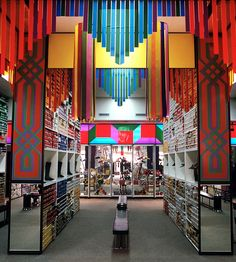 deborah_sussman; standard shoes store, late '60s / early '70s (with frank gehry)