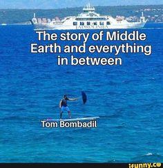 Tom Bombadil, as several wars happen in Arda: Ya'll hear sumn? Legolas, Gandalf, The Middle, Middle Earth, Narnia, Earth Memes, Rangers Apprentice, Jrr Tolkien, The Hobbit