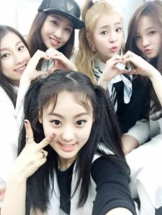 The Ark - Halla, Yuna, Minju, Yujin. Jane #The Ark #Selca
