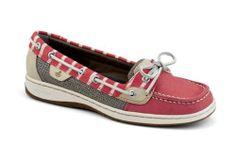 Sperry Topsider Angelfish Red Bretton Stripe Women's Boat Shoe 9265760 BNIB   eBay